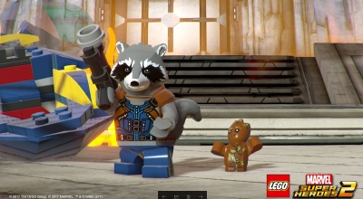 How TT Games is leveling up the open world of Lego Marvel Super