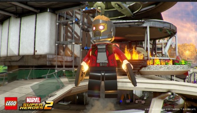 Lego Marvel Super Heroes 2 is massive open world with chaotic