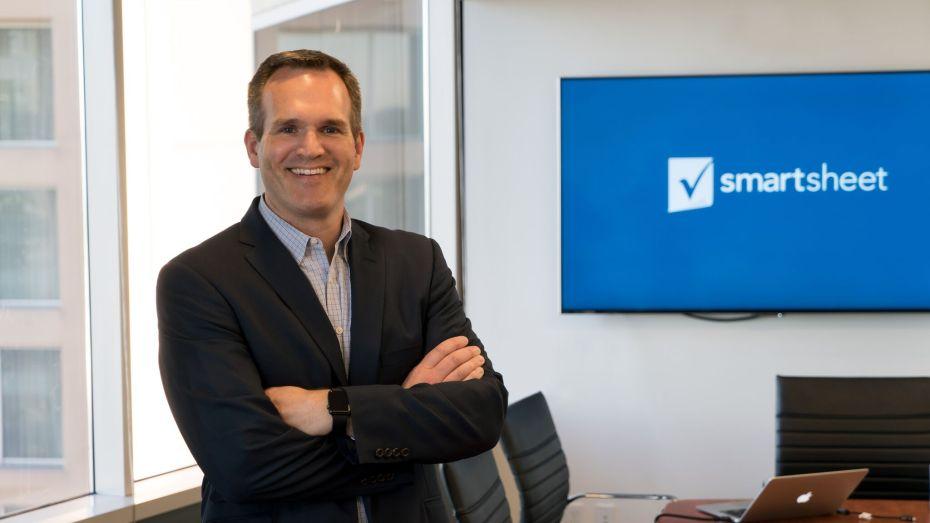 Smartsheet CEO Mark Mader