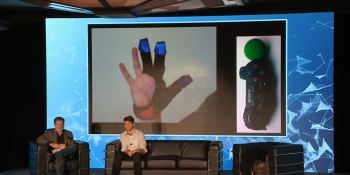 PlayStation interns turned the 'Minority Report' touch gloves into a reality