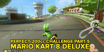 Watch Mario Kart 8 Deluxe: Perfect 200cc Quest right here