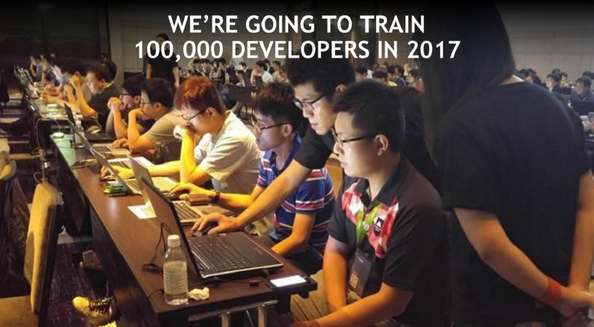 Nvidia to Train 100000 Developers on Deep Learning