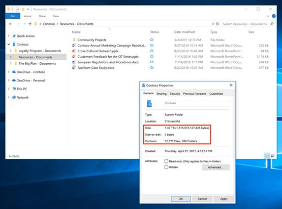 Microsoft Details Onedrive Files On Demand Offline Access