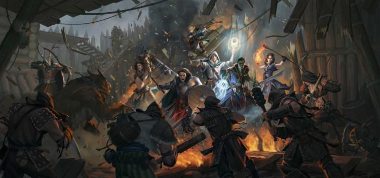 Pathfinder: Kingmaker is launching a $500,000 Kickstarter.