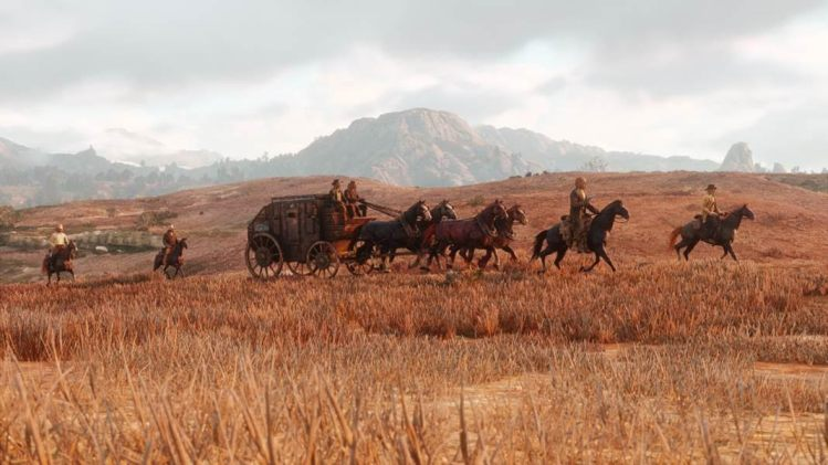 The frontier in Red Dead Redemption ii.