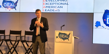 Sen. Warner calls job losses from tech innovation 'the issue of our time'