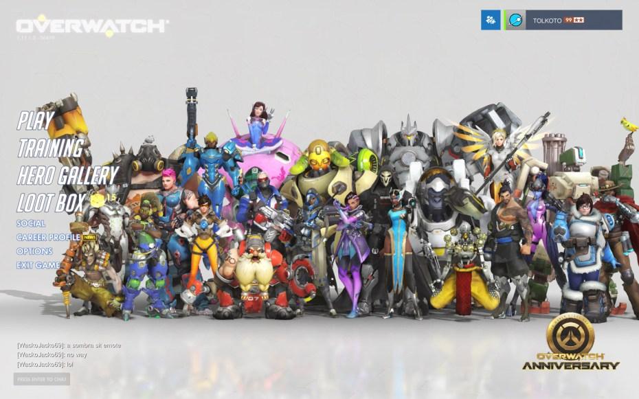 The Overwatch cast