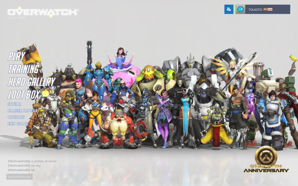 The Overwatch cast