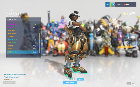 Jazzy Lucio in Overwatch