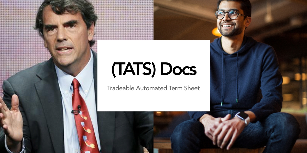 Tim Draper, founder and managing partner of Draper Associates and Raad Ahmed, founder and CEO of LawTrades