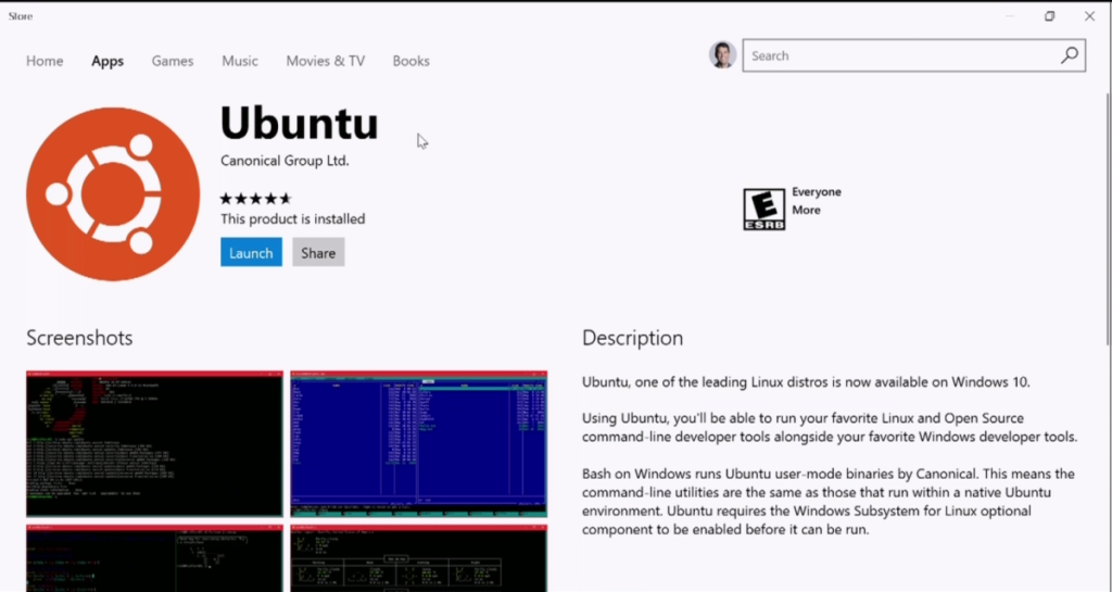 Ubuntu arrives in the Windows Store, Suse and Fedora are