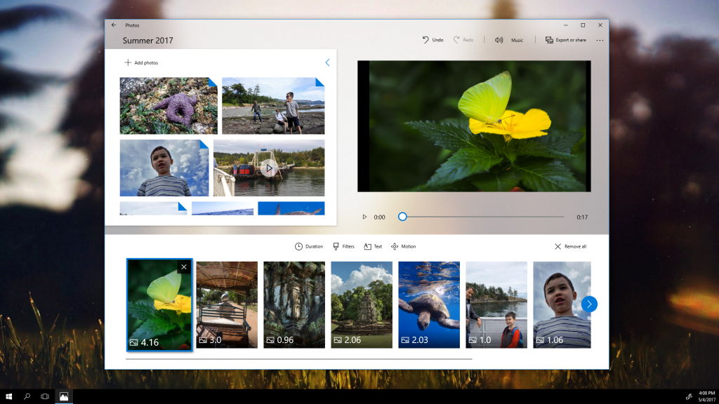 Microsoft releases new Windows 10 preview with Story Remix