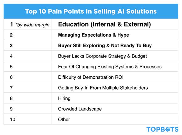 AI Company Pain Points