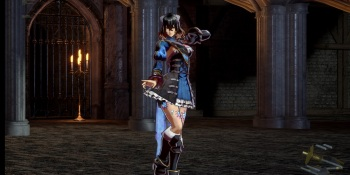Bloodstained is an old-fashioned ritualistic 2D horror fighting game