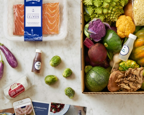Amazon tanks Blue Apron's stock with one trademark filing