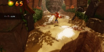 Crash Bandicoot N. Sane Trilogy is still weird on anything except PlayStation