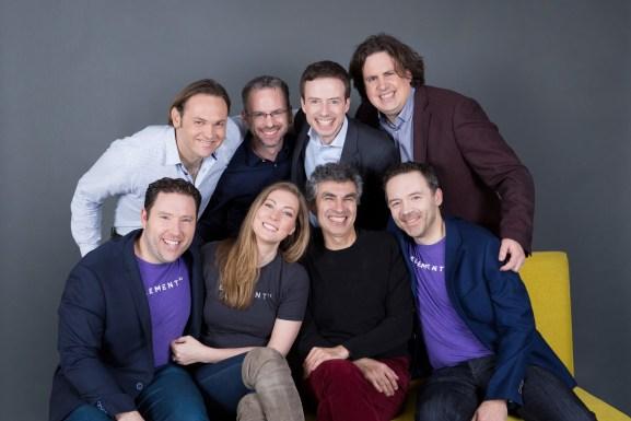 The Element AI executive team.