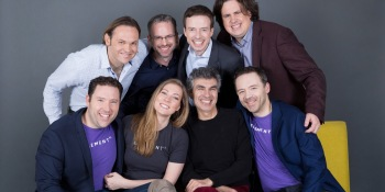 The Element AI executive team.