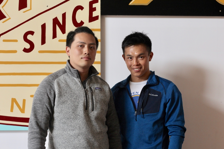 Upbeat cofounders Ricky Yean and David Tran