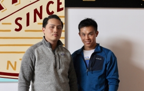 Upbeat cofounders Ricky Yean and David Tran