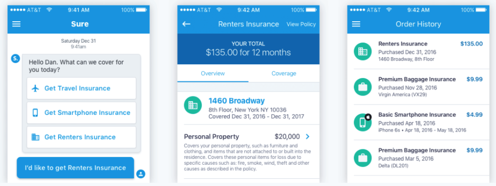 Insurance startup Sure raises $8 million and launches smartphone protection based on virtual diagnostics