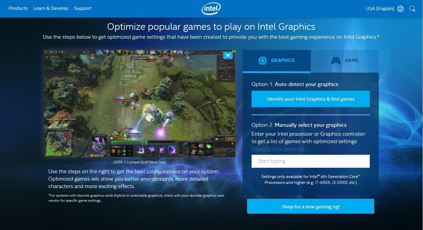 Improve your gameplay on Intel Graphics: Go here | VentureBeat