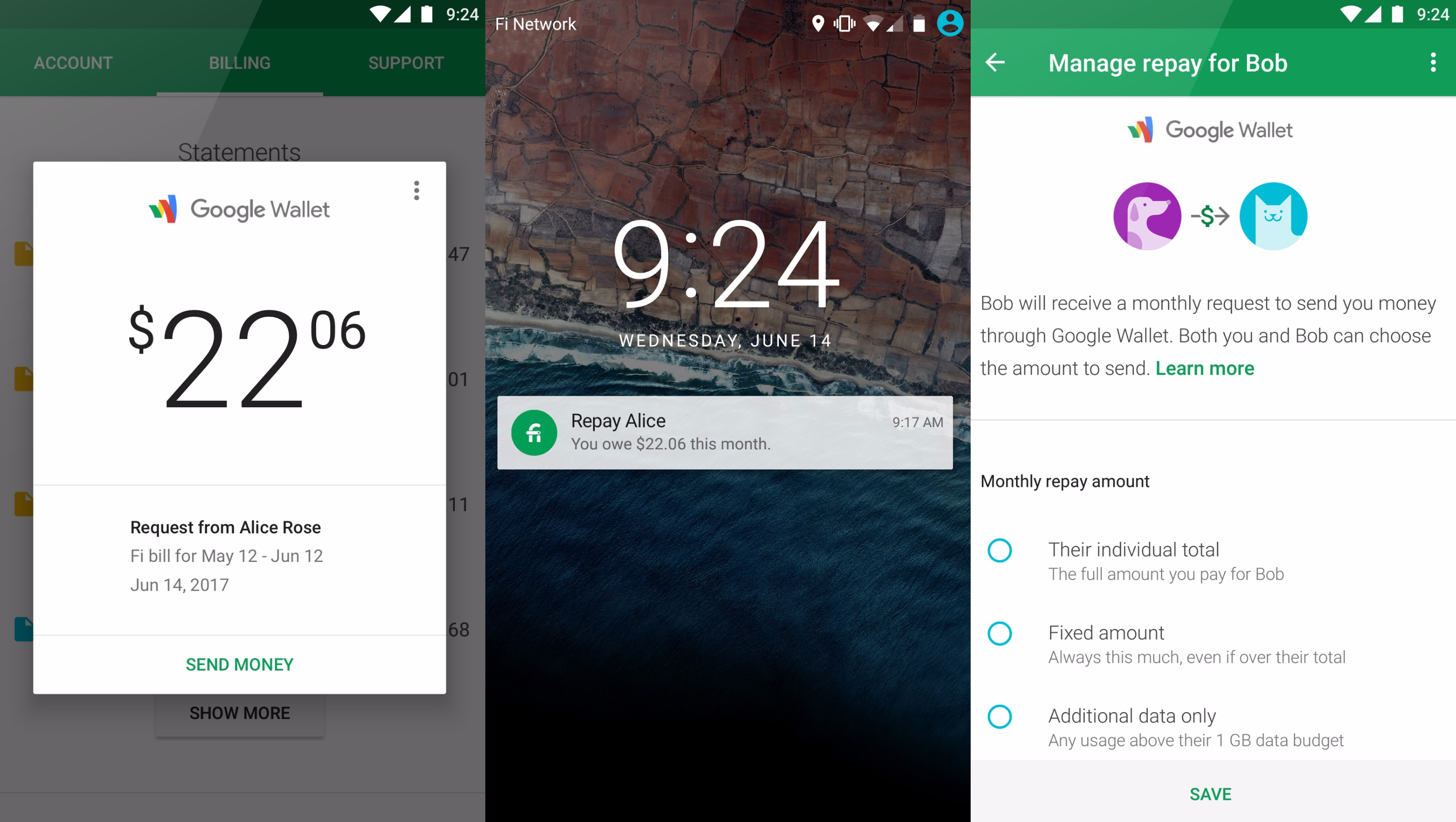 Google's Project Fi now lets you split the bill