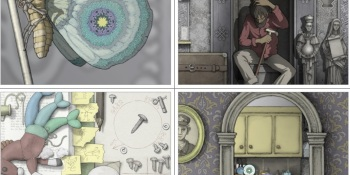 Gorogoa is a creative indie game where you zoom inside illustrated panels