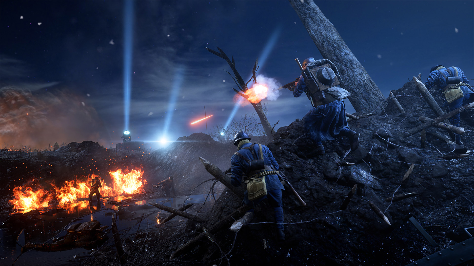Battlefield 1 Hands On Neville Nights Map Is A Crazy Battle In