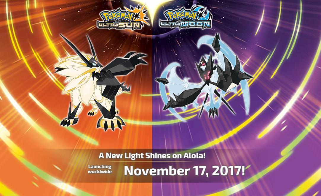 Nintendo 3ds Pokemon Games : Nintendo announces pokémon ultra sun and ultra moon for ds not