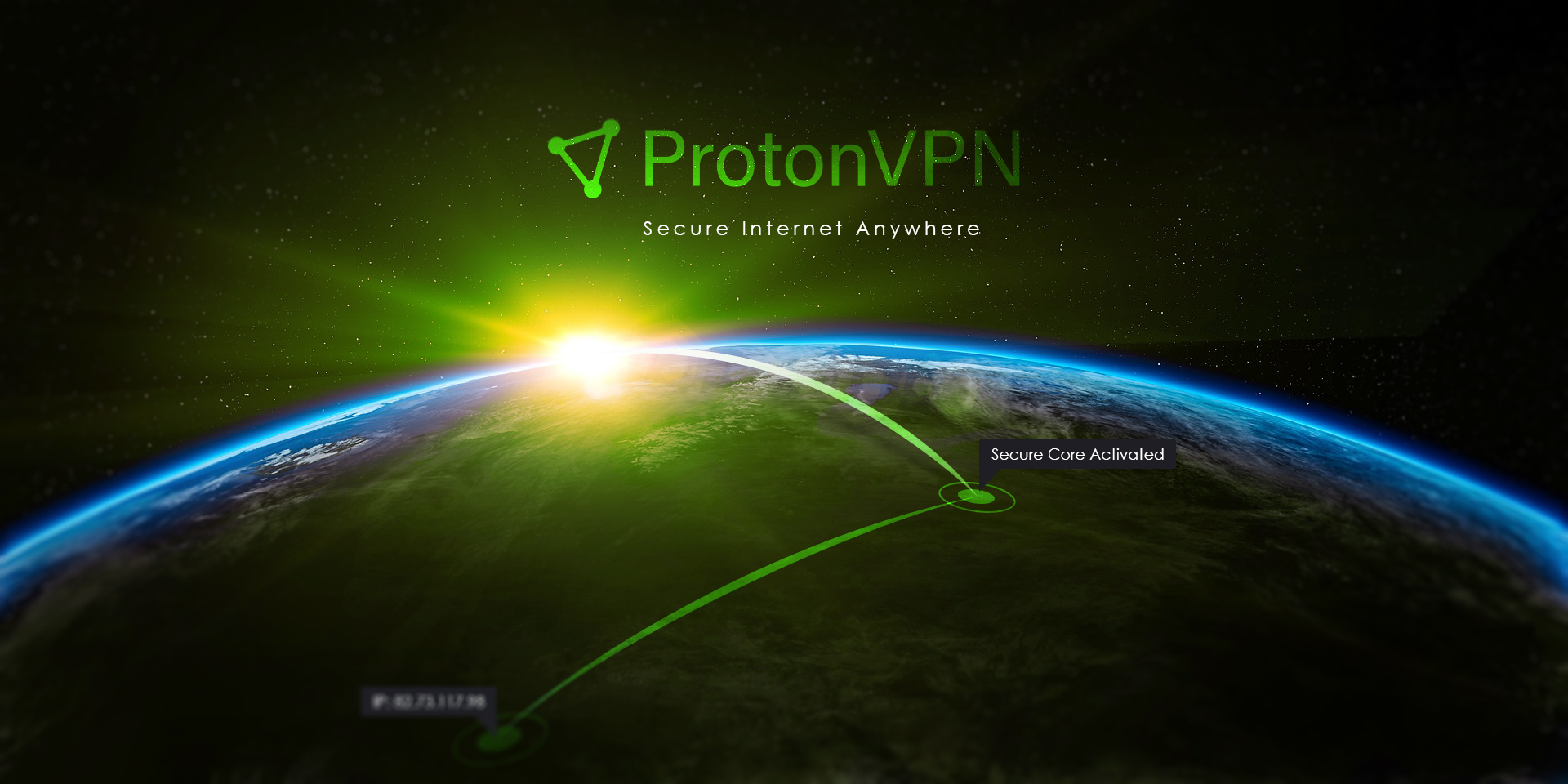 ProtonVPN helps keep your digital life private for free