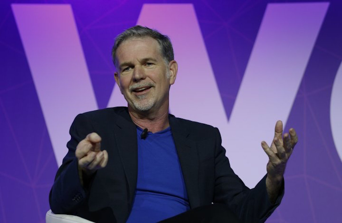 Netflix CEO wants the company to take more risks on its shows