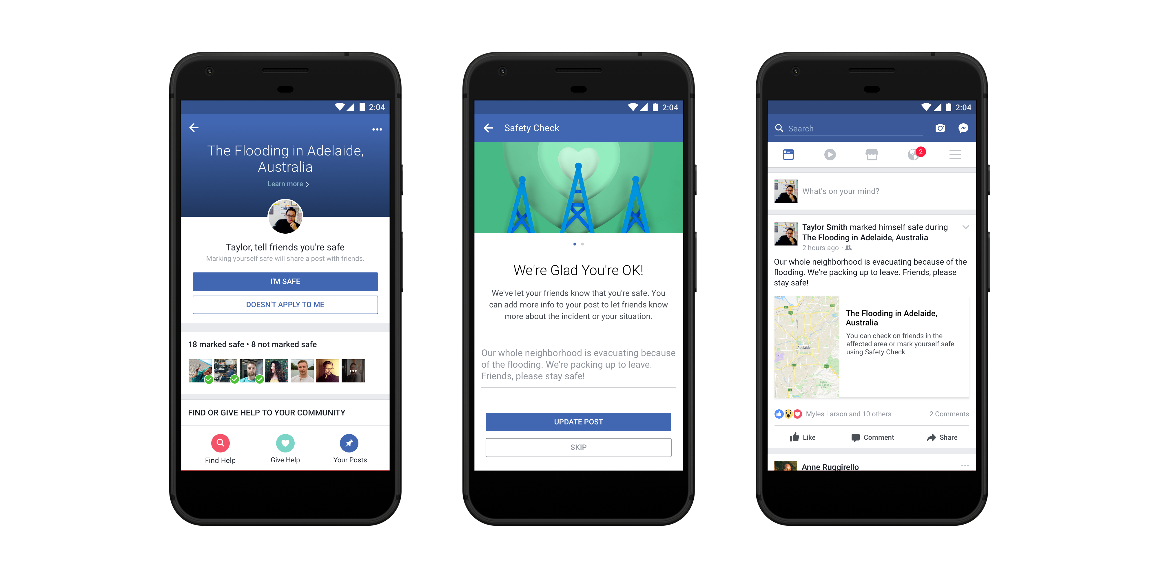 Facebook to add fundraising option to 'Safety Check'