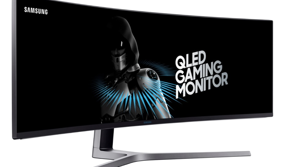 samsung s new 49 inch gaming monitor is unnecessarily wide