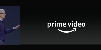 Apple and Amazon pause feud to play Prime Video on Apple TV