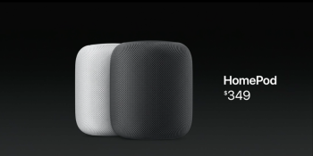 Apple unveils $349 HomePod, its answer to the Amazon Echo