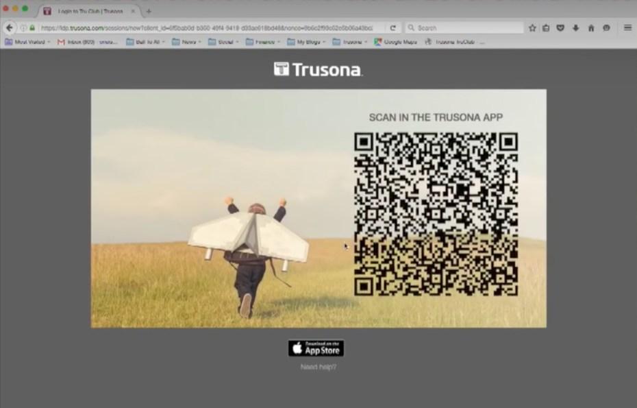 Trusona app
