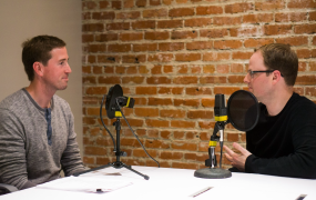 This image shows Eventbrite VP & GM Brian Rothenberg (left) and Greylock Growth Advisor Casey Winters.