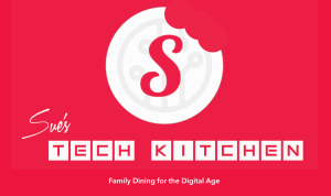 This image shows logo of Randi Zuckerberg will open Sue's Tech Kitchen in Chattanooga, TN on July 28, 2017.