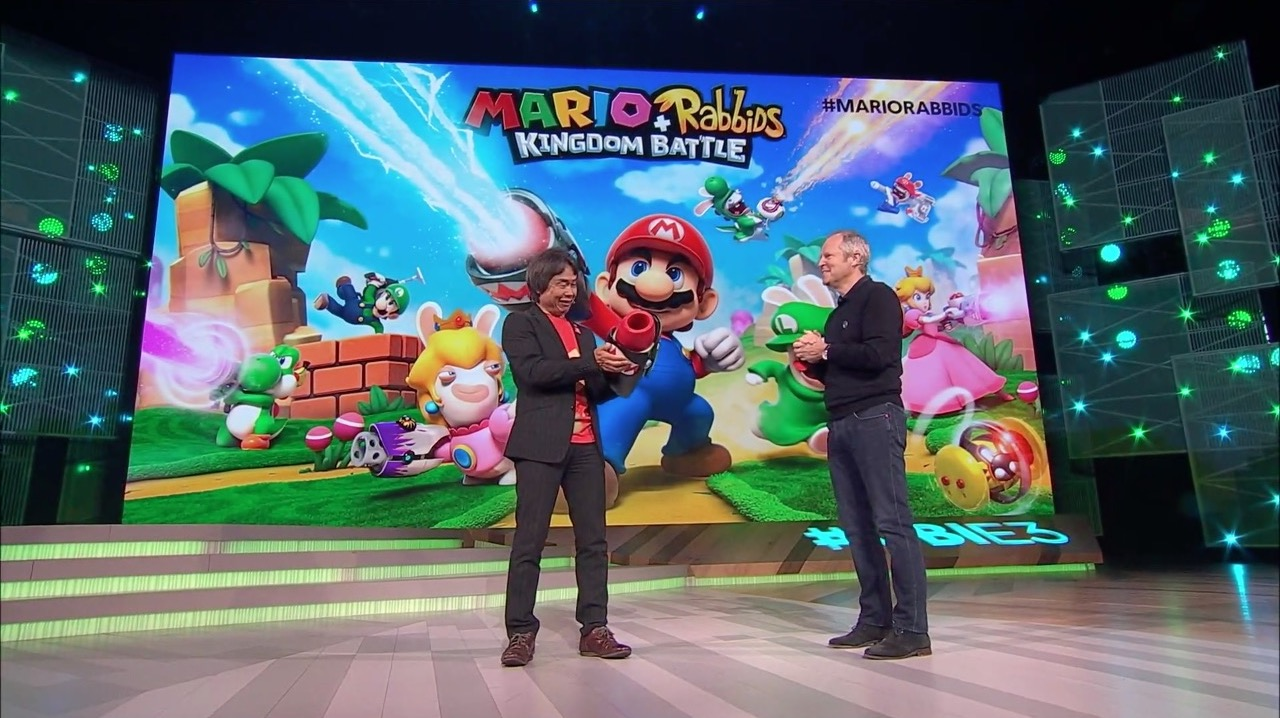 Nintendo and Ubisoft cross over in 'Mario + Rabbids: Kingdom Battle'