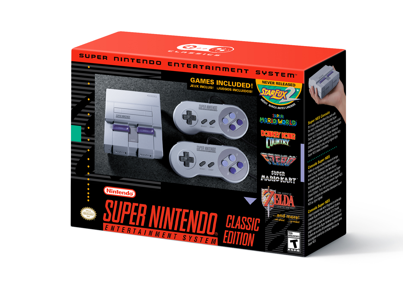 Super Nintendo Entertainment System Classic Edition is coming September 29