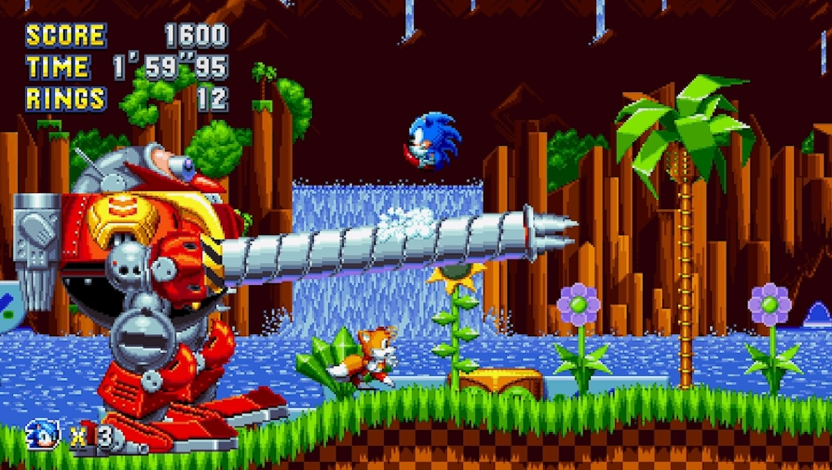 Sonic Mania's Chemical Plant Zone Is A Blast From The Past