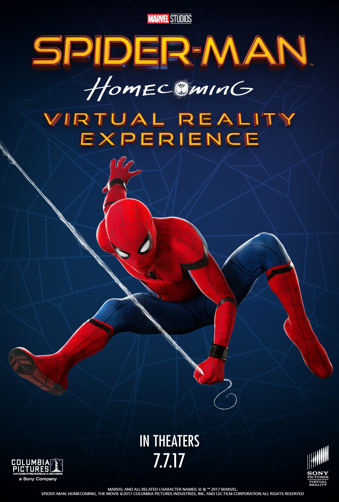 sony pictures announces spiderman homecoming vr