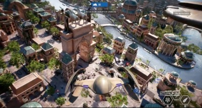 Above The View From In Theed Map For Battlefront II Multiplayer