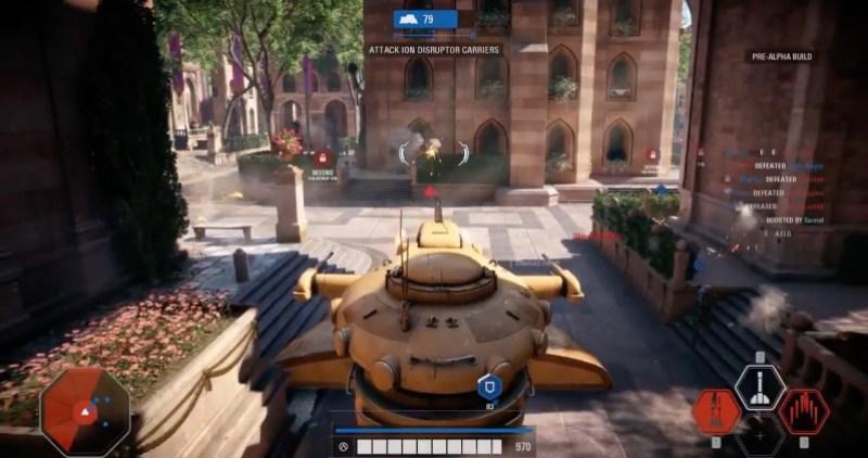 Above Star Wars Battlefront II Multiplayer