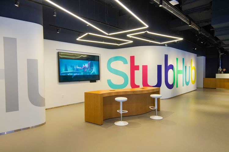 StubHub follows other ecommerce companies in embracing brick-and-mortar stores