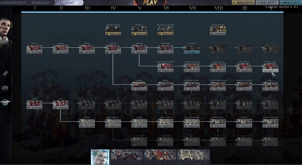 Total War Arena Accessible Play