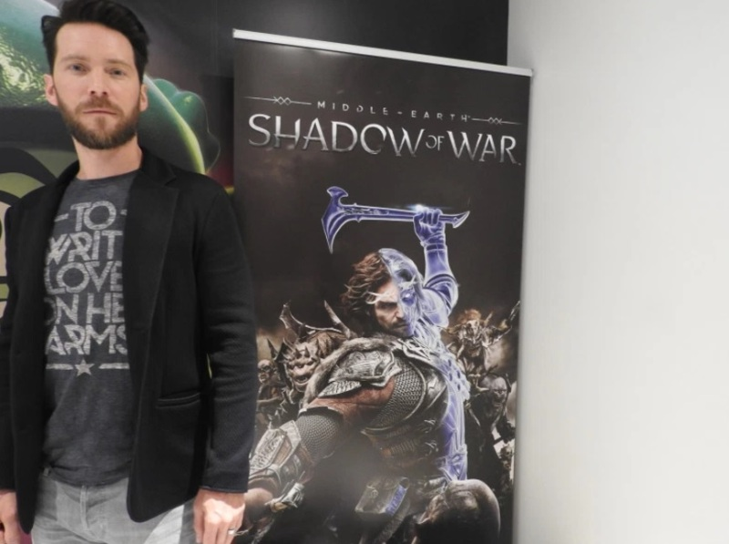 How the ubiquitous game actor Troy Baker plays Talion in ...