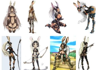 Bunny girls aren't in Final Fantasy XIV because of high-heel