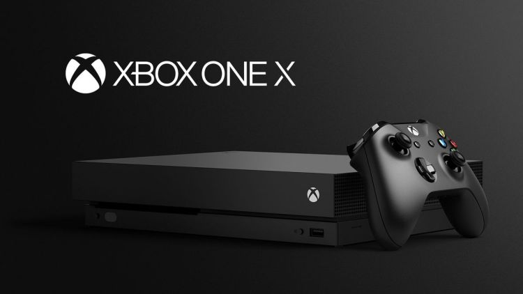 The Xbox One X.